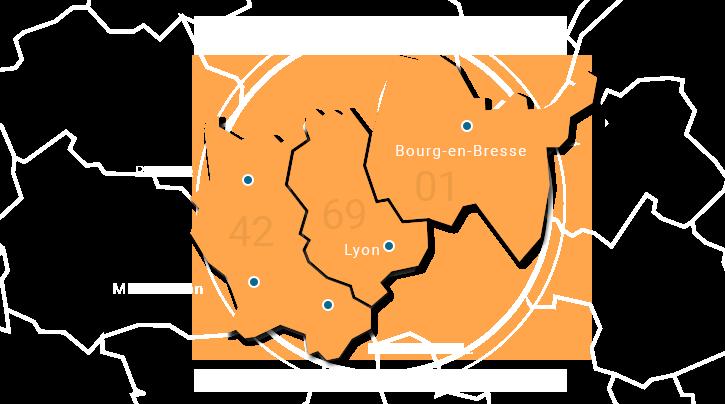 carte compétence territoriale